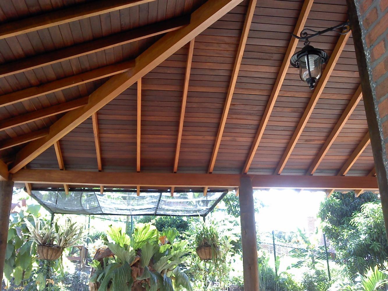 Tablilla para techo en Choiba