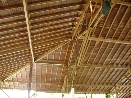 Tablilla para techo en Zapán