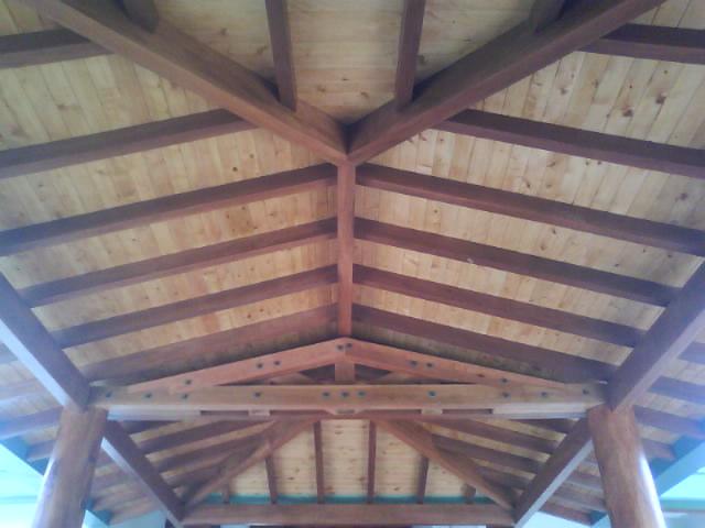 Tablilla para techo en Pino ciprés